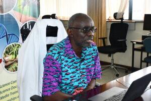Prof. Walter Jaoko, Professor of Medical Microbiology and Tropical Medicine at University of Nairobi