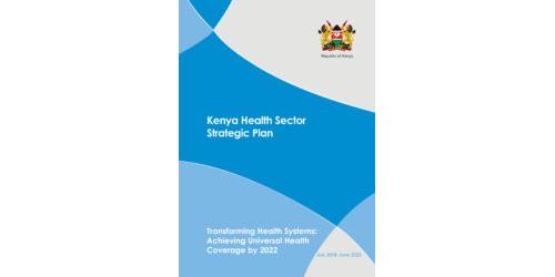 Kenya-Health-Sector-Strategic-Plan(July 2018-June 2023)