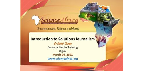 Introduction to Solutions Journalism